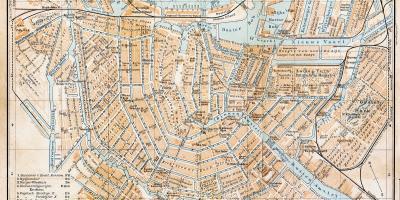 Amsterdam Map Maps Amsterdam Netherlands - Amsterdam old map